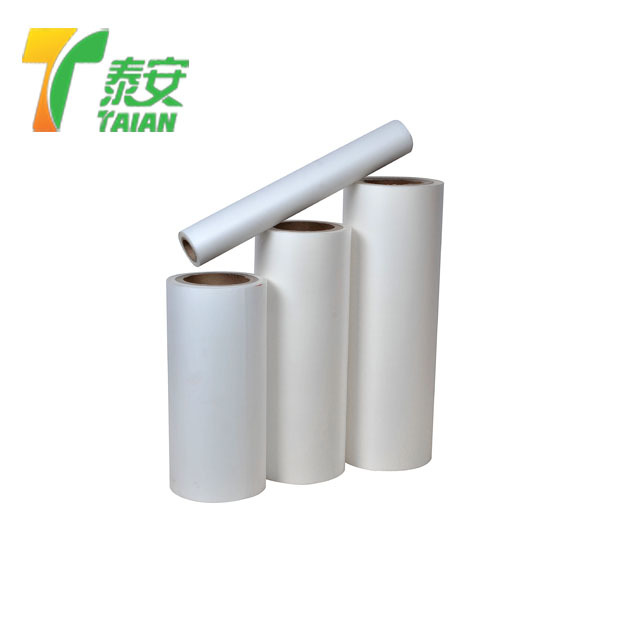 Thermal velvet lamination film matt soft touch laminating film