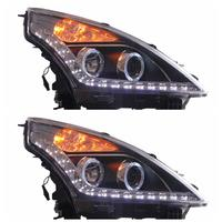 VLAND manufacturer for car lamp for Teana 2008 2009 2010 2011 2012LED head light plug and play with Angel Eye