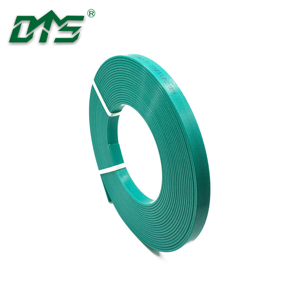 Hydraulic GuideElements Polyester Fabric Hard Guide Tapes Green Color