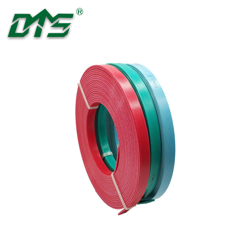 Hydraulic Cylinder Flat Surface Phenolic Resin Hard Guide Strip Wear Ring Green Color