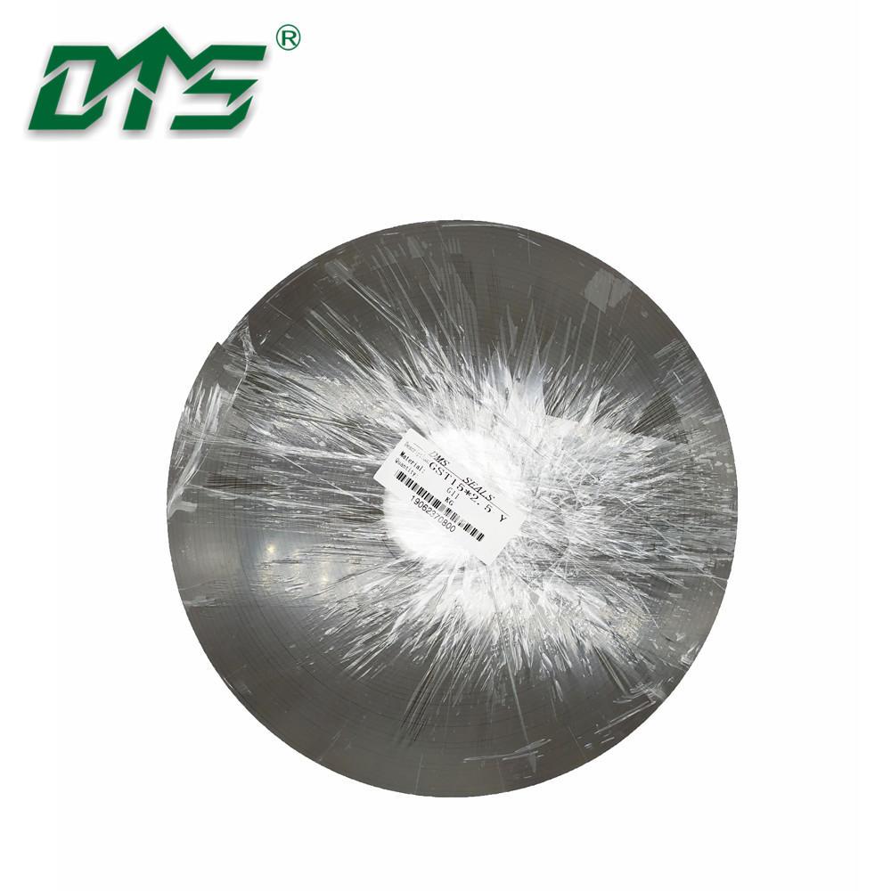 Knurling Bronze PTFE Customized Cut Hydraulic Wear Rings Thickness 2.5