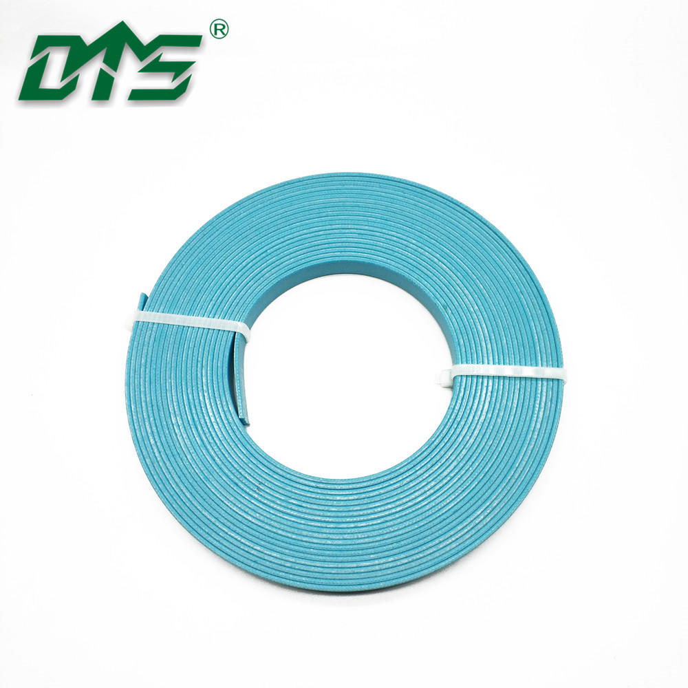 Turquoise Blue Color Phenolic Resin Fabric Guide Strips for Hydraulic Cylinder