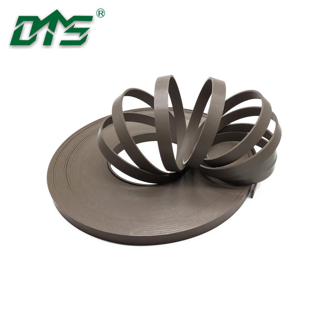 Brown Bronze PTFE Embossing Hydraulic Bearing Guide Strips