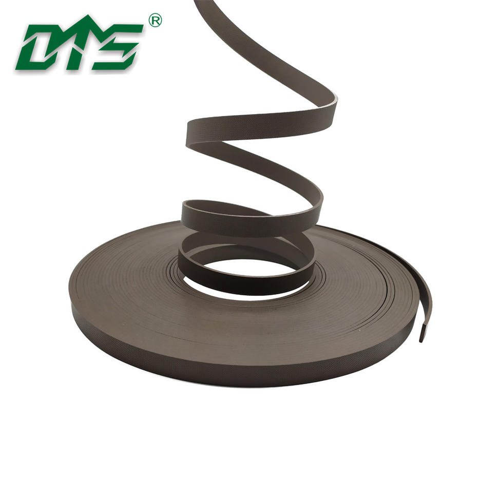 40% bronze PTFE guide ring wear strip GSTwith brown color for hydraulicelements