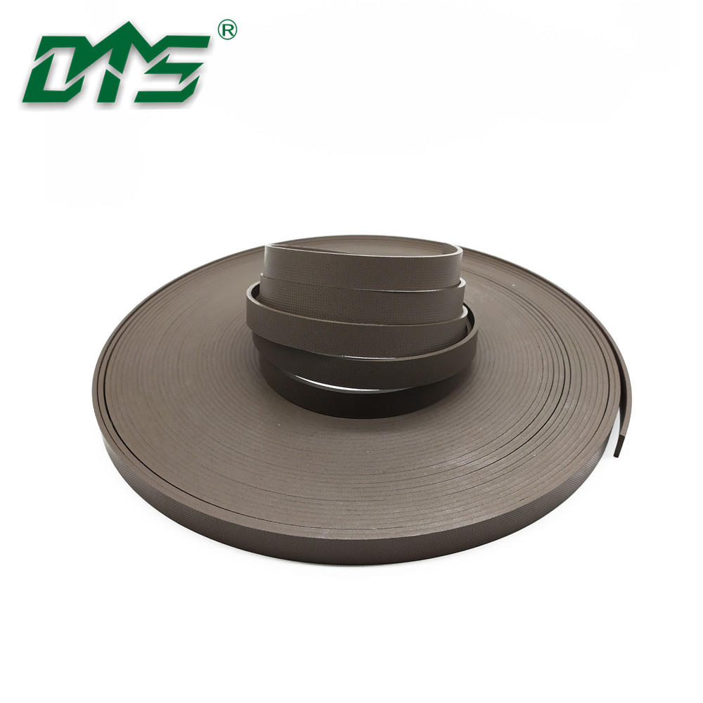 Hydraulic Cylinder Embossing Brown Bronze PTFE Guide Strips GST