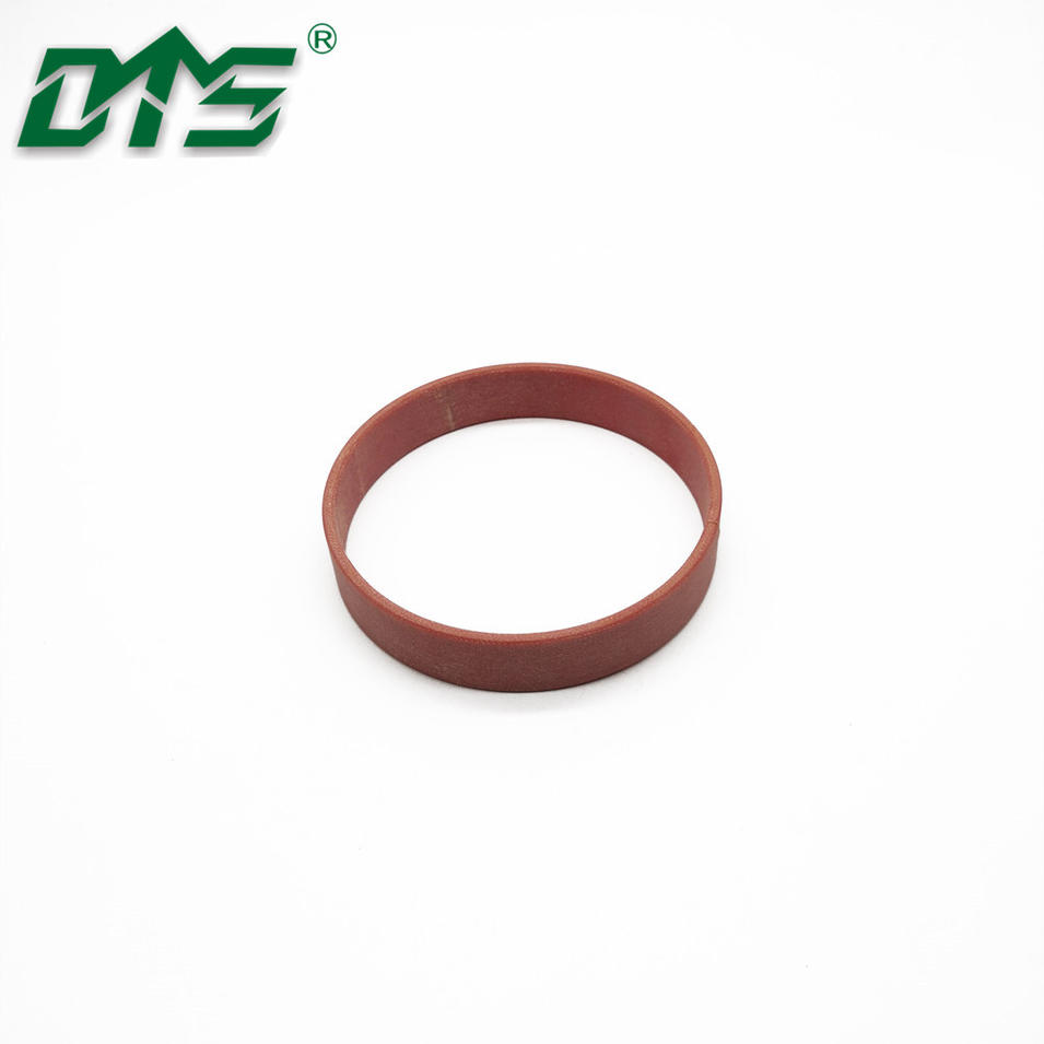 Red Phenolic Fabric Resin WR Wear Ring Guide Seal For Hydraulic Cylinder