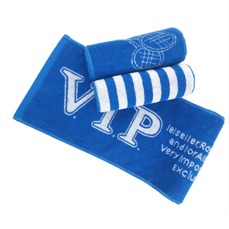 Customizable 100% cotton jacquard Cooling sports towel neck wrap