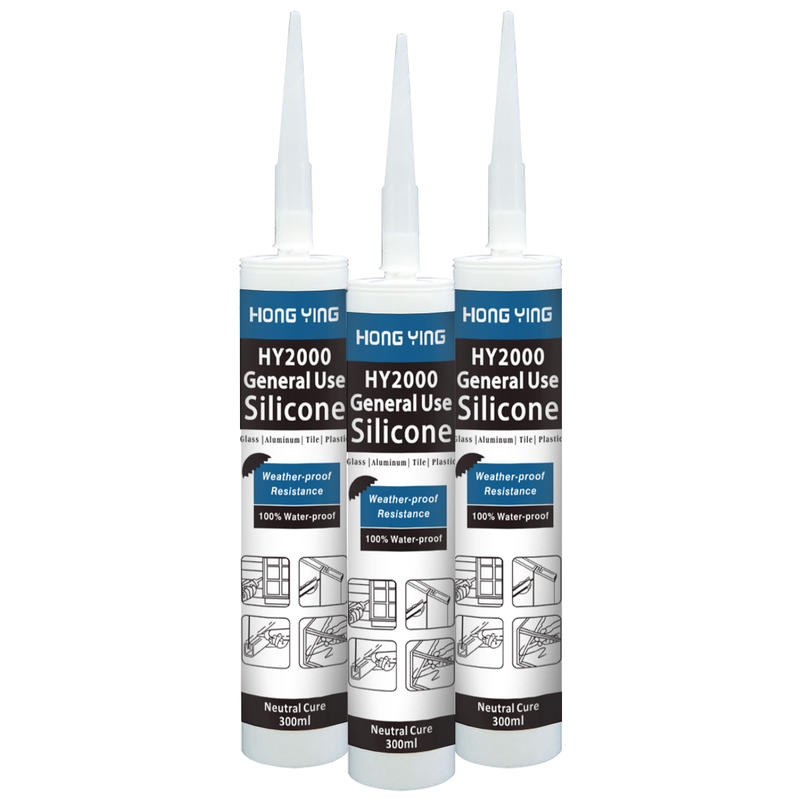 High Quality Waterproof General RTV Silicone Sealant MSDS For Glass Single Component