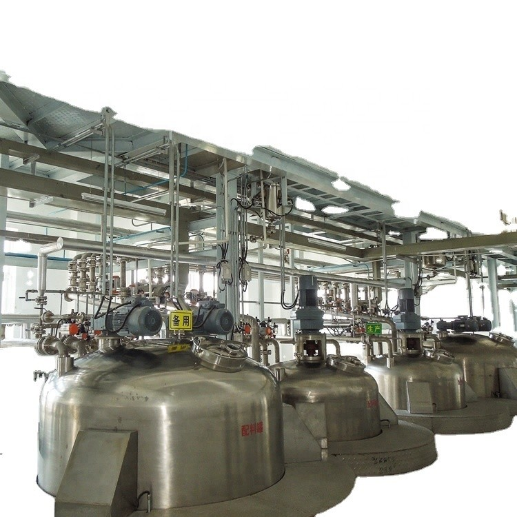 Liquid Detergent Plant Turnkey Project / LiquidDetergent Production Line/Liquid Detergent Machine Maker