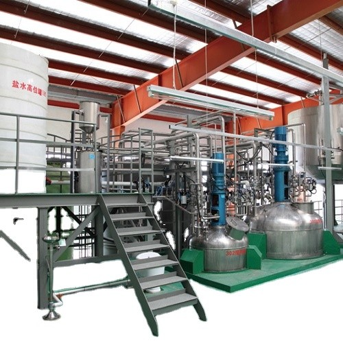 Turnkey Project Liquid Detergent Making Machine / Liquid Laundry Detergent Production Line / Liquid Soap Equipment