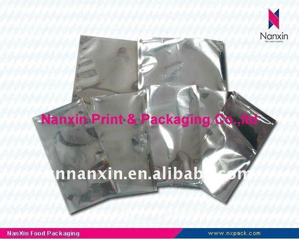 anti-static aluminum foil bag 3 sides seal bag