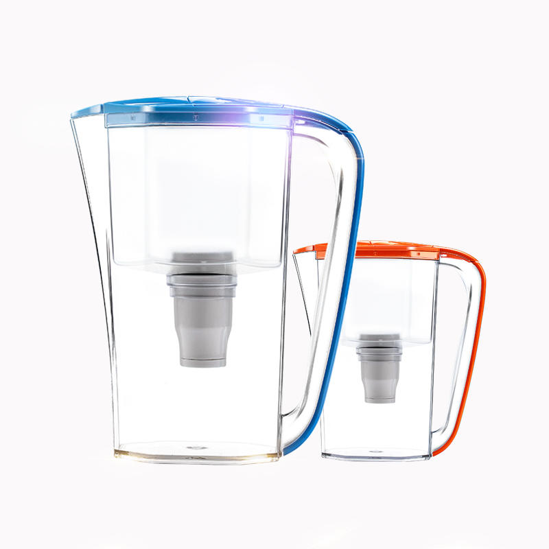 Wholesale high quality water purifier pitcher with filter for home