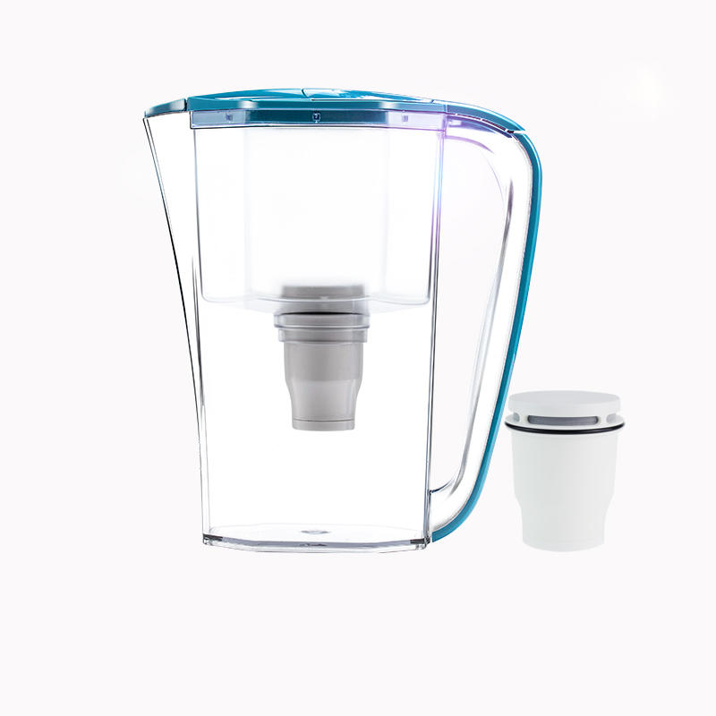 2020 Supermarket sales high-end water purifier jug with filter membrane water purifier mug