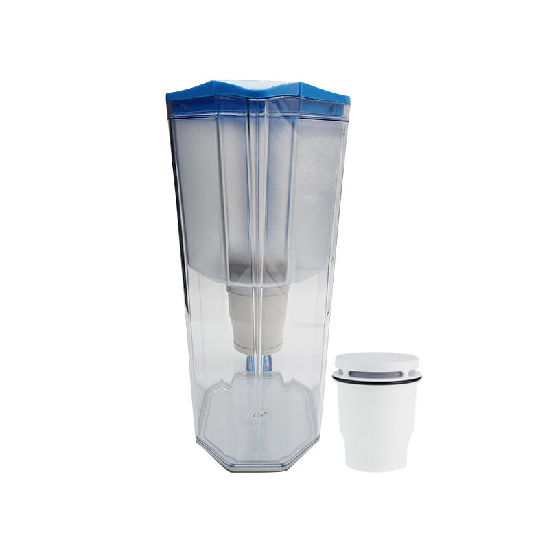 Blue new design water filter pitcher jug water filter accessories manufacturer