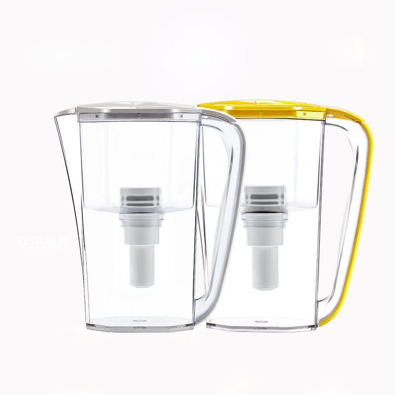 beautiful alkaline water pitcher with UF membrane fits for fridge door