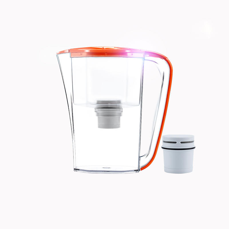eco-friendly and economical plastic water pitcher with activated carbon filter