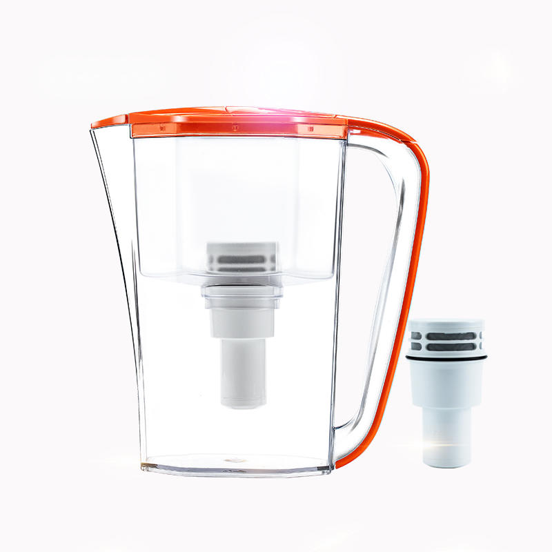 2.5 L high-end plastic filter water jug Eco-friendly Minerals Reduce heavy metals