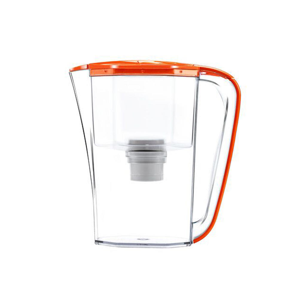 Blue orange beautiful water filter purifier kettle with activated carbon