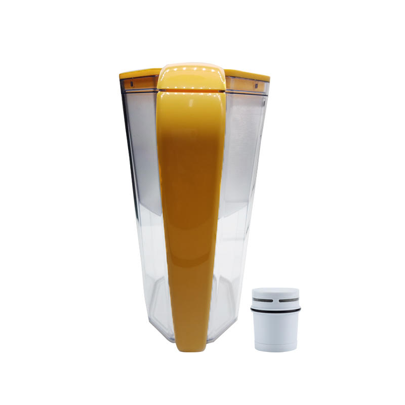 2020 latest design beautiful water filter mug with activated carbon filter