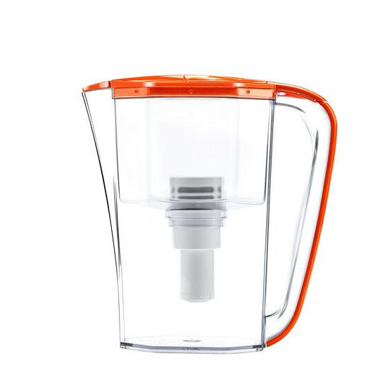 Fast alkaline plastic filtering water purifier pitcher with uf membrane filter