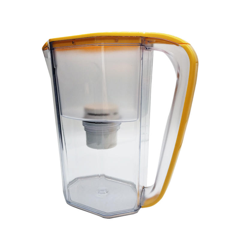 2020 Orange hot sale water filter pitcher with activated carbon