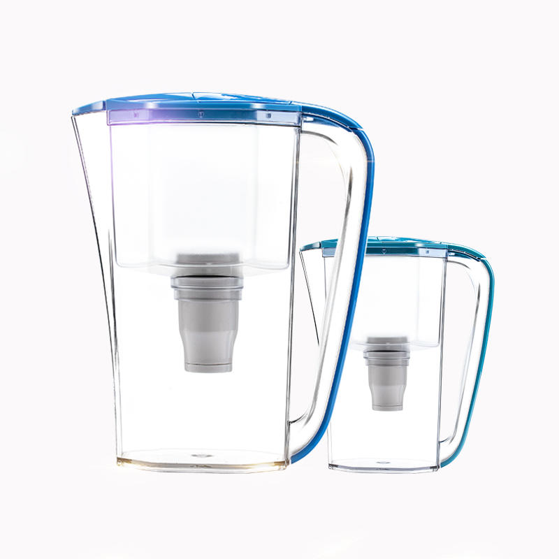 2020 new design low pressure straight drink water purifier jug with uf membrane