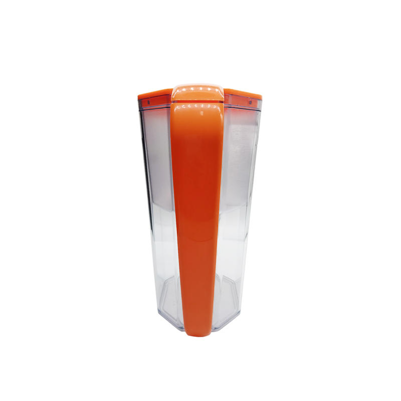 New design eco-friendly 3.5l household straight drink water filter pitcher