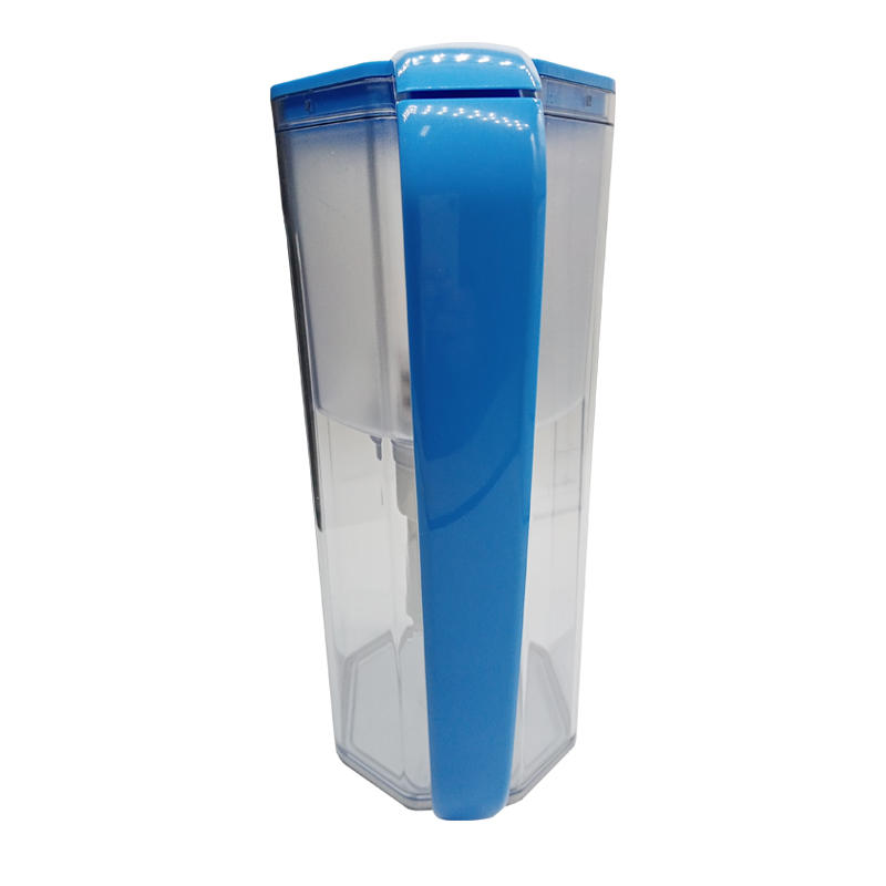Beautiful design orange high-end water filter jar easy to install
