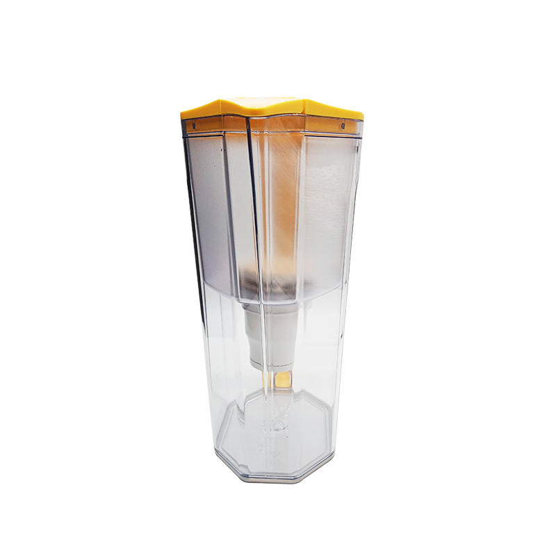 3.5L Orange popular UF membrane water filter jar good choice for gift