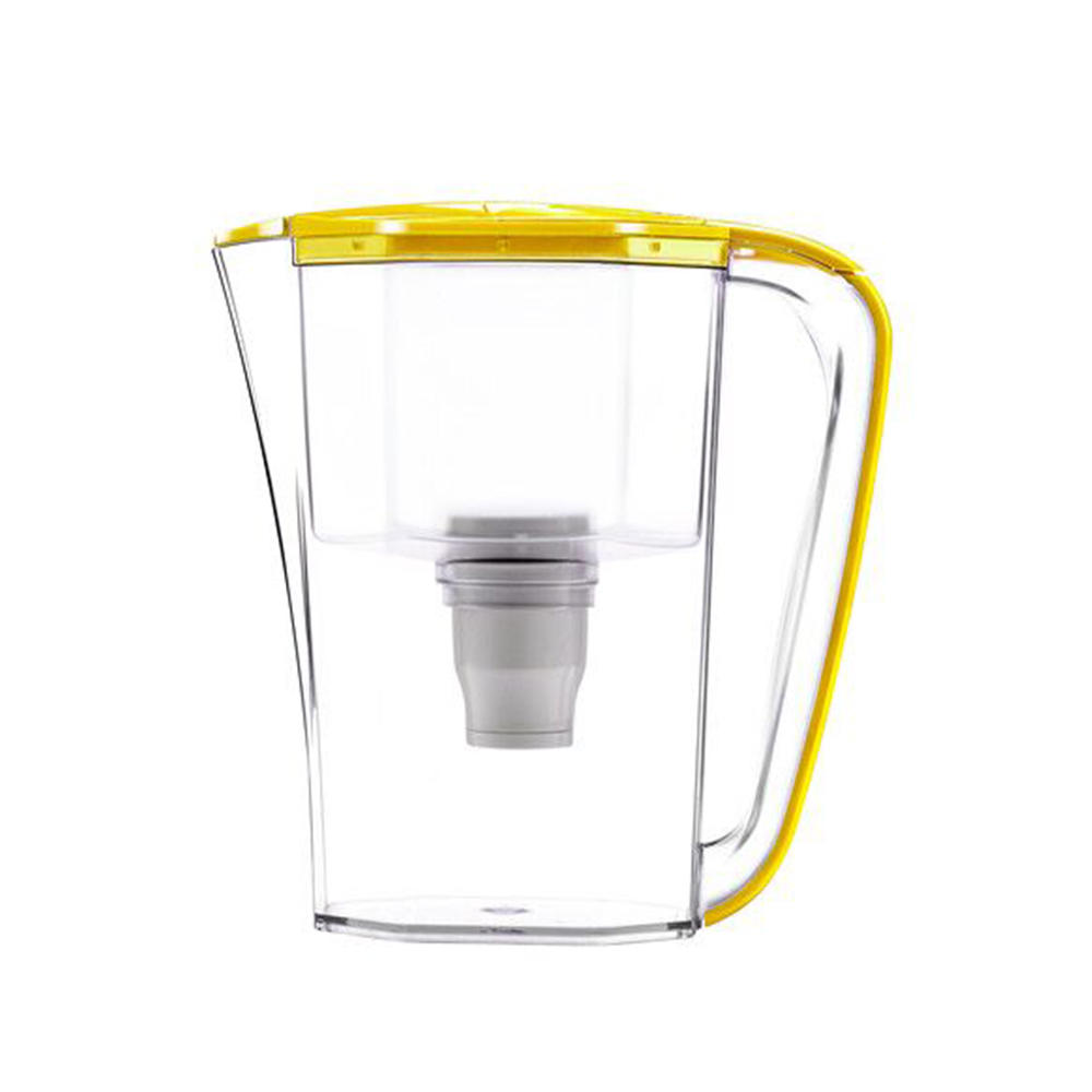 High quality portable desktop plastic water filter jug with activated carbon