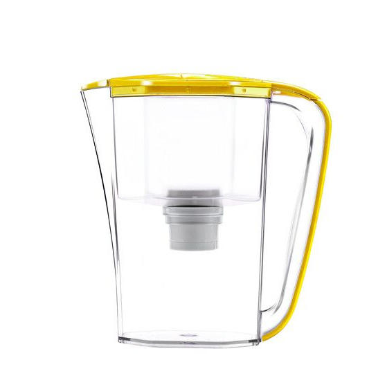 3.5L BPA free plastic activated carbon water filter pitcher with ion resin