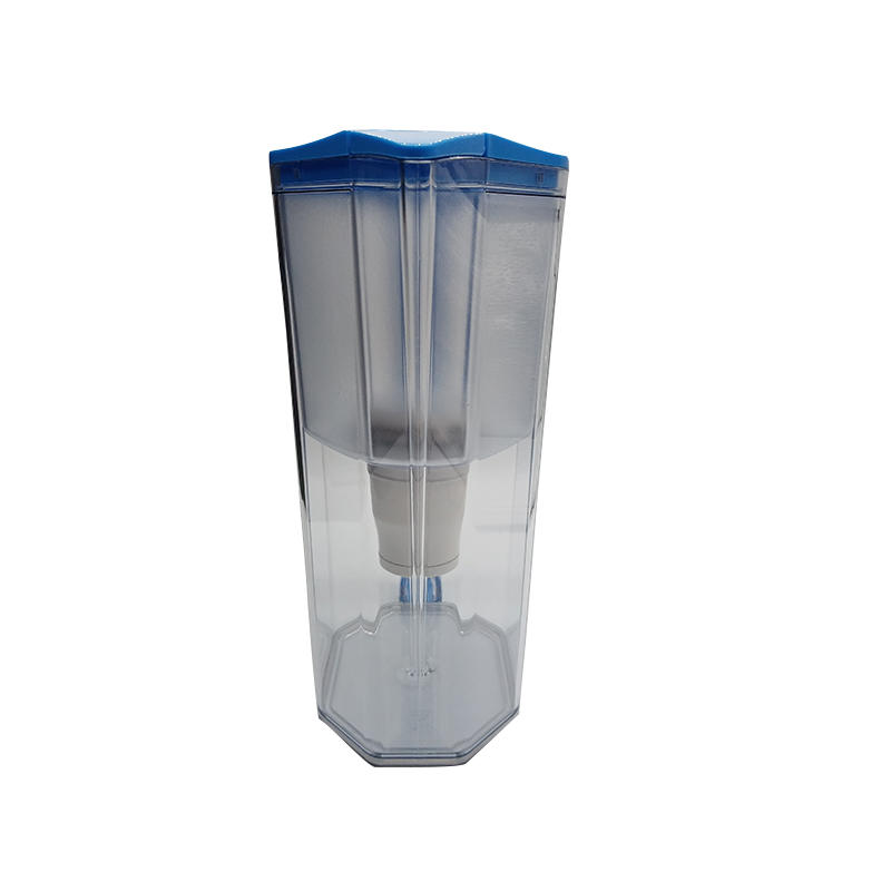 Grade one direct drink water purification jug plastic water filter pitcher