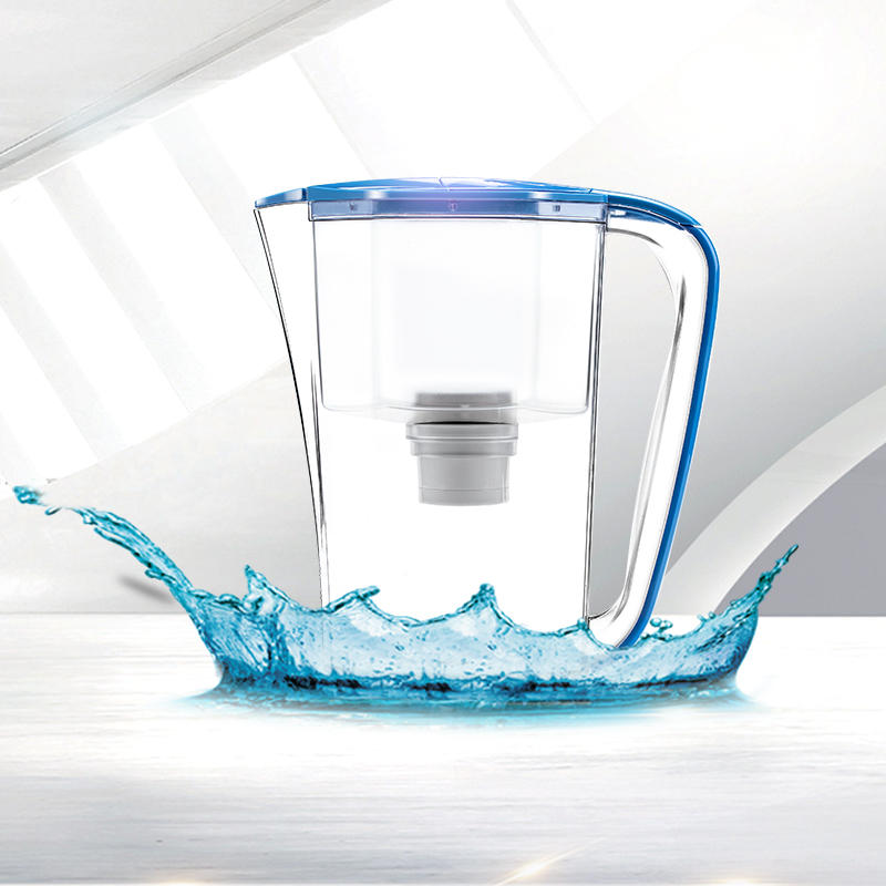 Practical water purifier jar plastic filter jar for kitchen