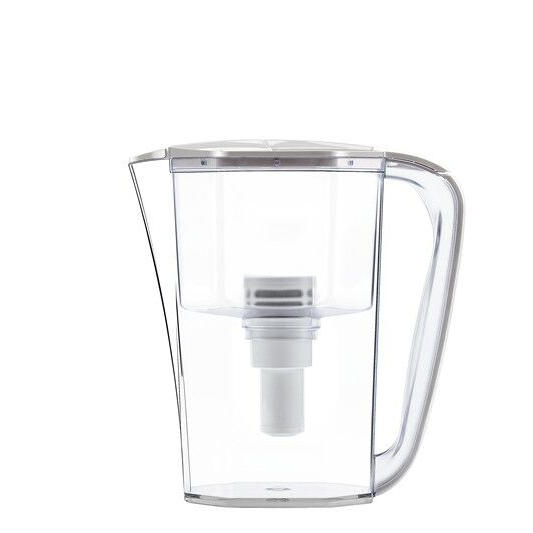 high capacity household water filter jug with UF membrane removes chlorine and bacteria