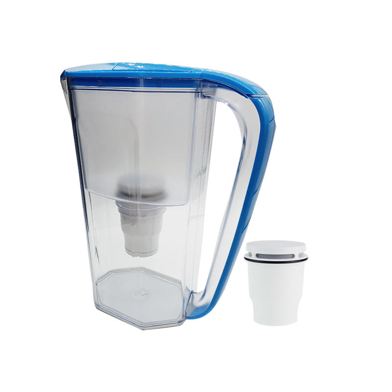 New design water purifier bottle for dispenser easy use water filter jug