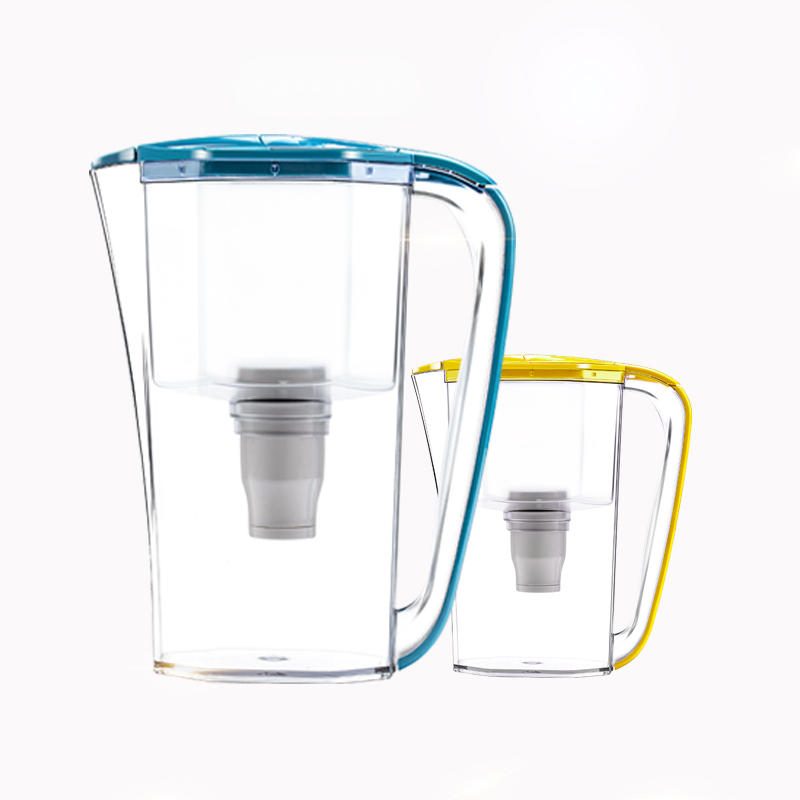Hot sale grade one direct drink water purification kettle plastic water filter pitcher