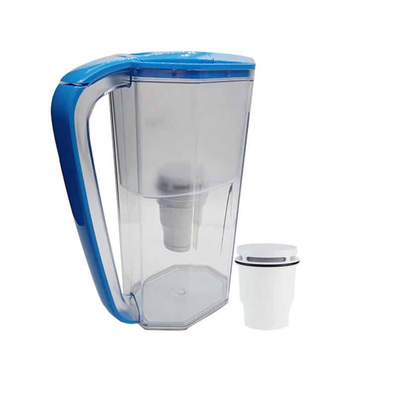 Novelty plastic cup with handle water purifier with 99.99% bacteria removing Large water kettle