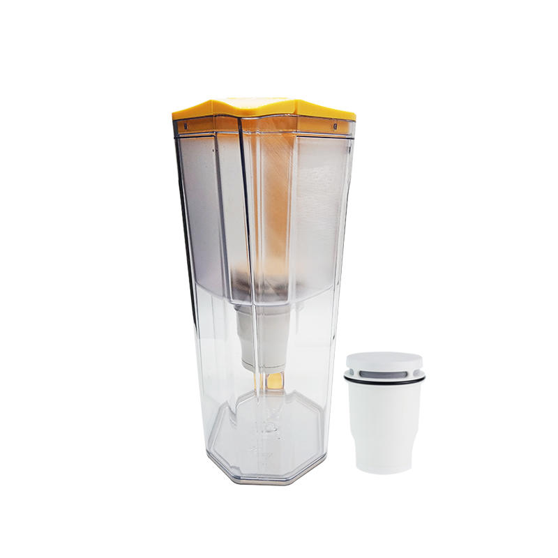 High quality portable desktop plastic water filter jug with SGS certification