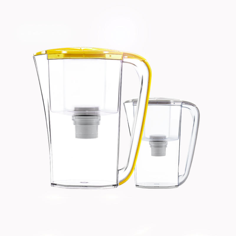 Activated carbon water filter pitcher for household water treatment soften water