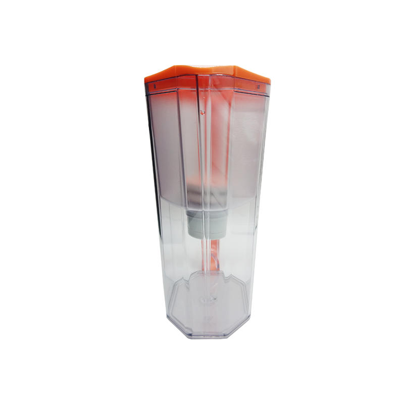 Activated carbon filter portable desktop water purification jug