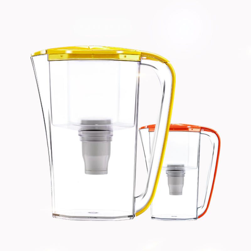 8-cup everyday water filter pitcher household pre-filtration pitcher easy pouring