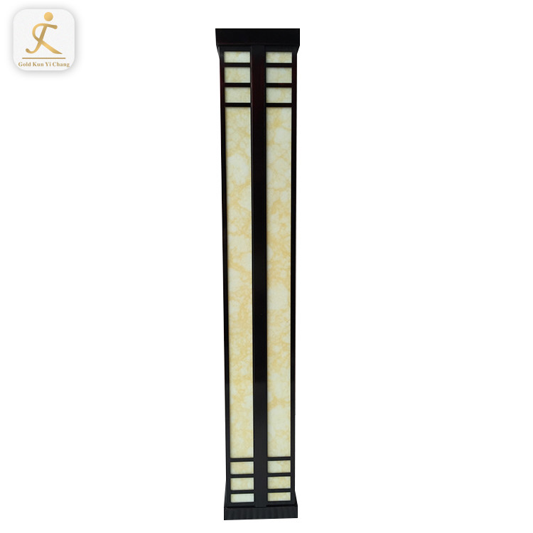 long rectangle Chinese style light indoor housing custom accepted small frosted glass lamp shades