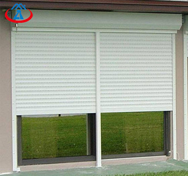 Rolling Up Type Manual/Electric Operation Aluminum Roller Shutter Window