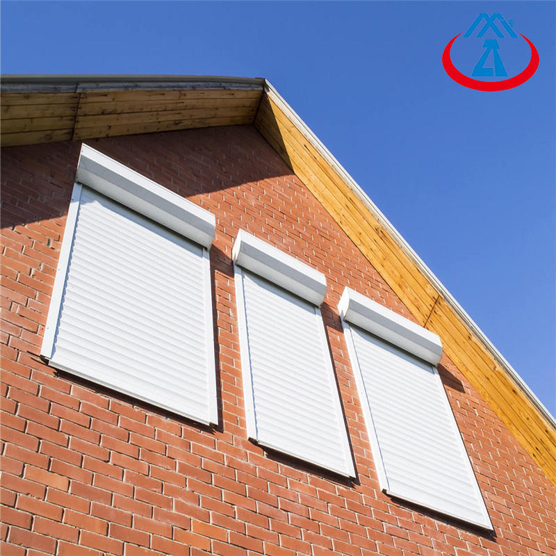 Outdoor Aluminum Security Shutters Motorised Rolling shutter Window
