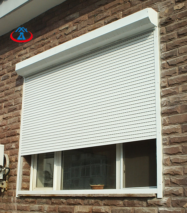 Ready To Ship 1400mm*1200mm 45mm Width ofSlat Thermal Insulation Aluminum Rolling Window