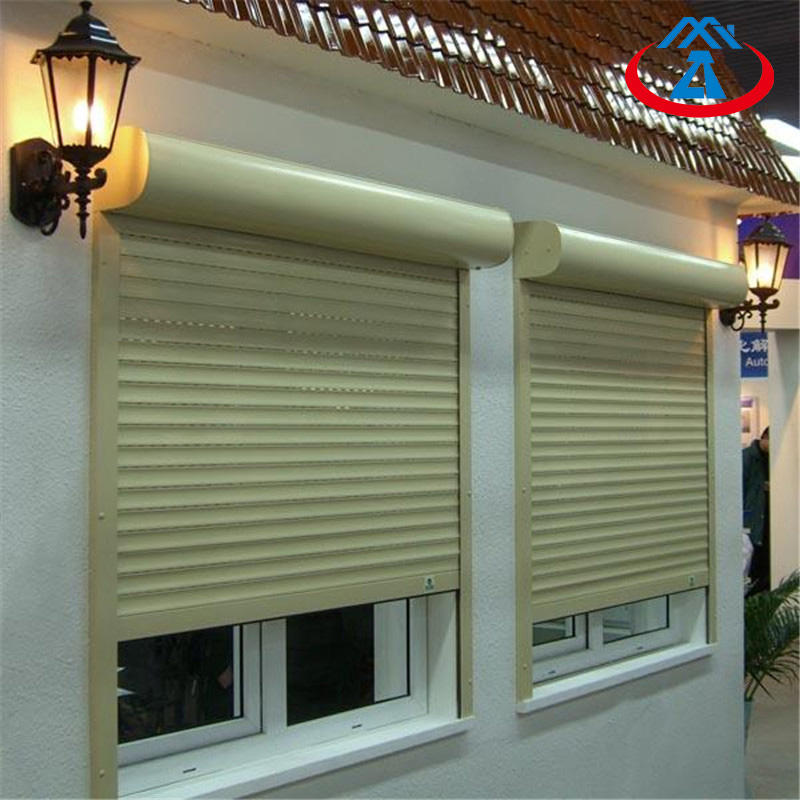 Latest Modern Electric Aluminum Roller Shutters Exterior Security Shutter Window