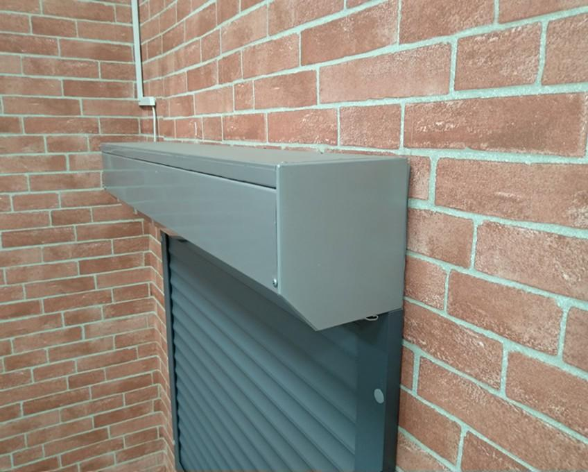 aluminium roller shutters windows windproof shutter windows from China