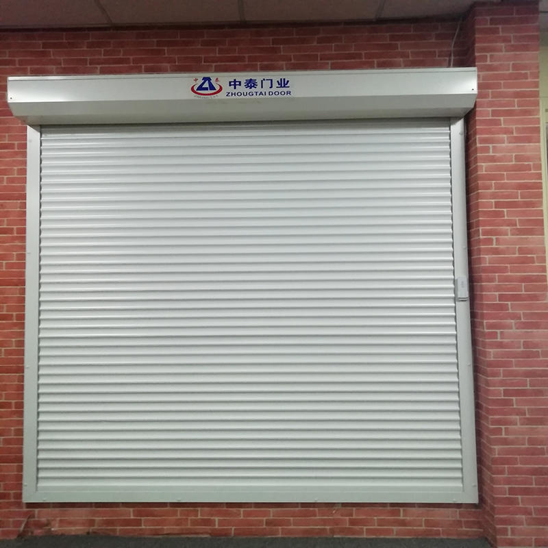 PU thermal Insulated 39mm Double LayerSlat White Aluminum Roller Shutter Window Ready to Ship