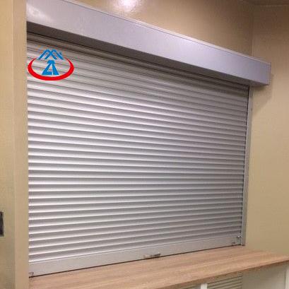 1000mm*1000mm 45 Slat Aluminum Rolling Shutter Window for House