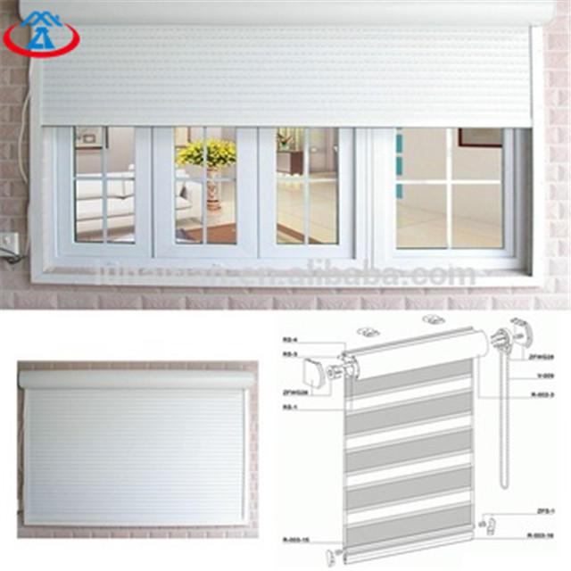 45mm Width Of The Slat Vertical Thermal Insulation Aluminum Roller Shutter Window